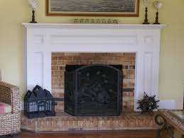 red stunning fireplace mantels diy with miniature black house for