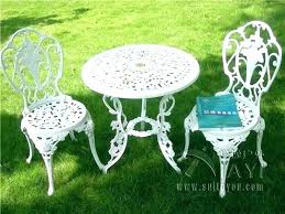 white cast iron patio furniture furniture design white cast iron patio furniture wrought bistro set simple chairs white cast iron patio furniture wrought