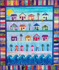 6 Beach-Themed Quilts for Fun in the Sun & Beach Cottages Quilt Pattern Adamdwight.com