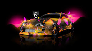 toyota supra sweet abstract car