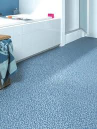 blue mosaic vinyl bathroom floors with small rattan clothes box in front of white builtvinyl floor