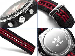 1more rakuten global market adidas stockholm stockholm adidas stockholm stockholm chronograph men watch black red nylon belt adh2840