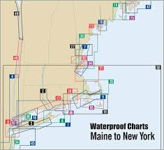 Long Island Sound Waterproof Chart 9th Edition