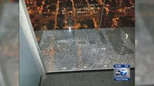 willis tower ledge sounded like stepping on ice