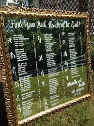 Calligraphy Wedding Seating Chart Love This Romantic Vintage Seating Plan Idea Hand Drawn
