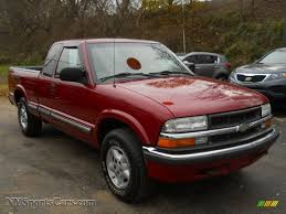 2003 Chevrolet S10 LS Extended Cab 4x4 in Dark Cherry Red Metallic ...
