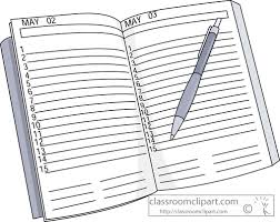 Daily Planner Clipart