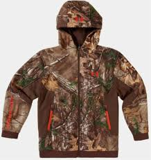 under armour youth hoodie. under armour youth ayton full zip hoodie jacket coldgear storm (realtree ap xtra) 1238329-946