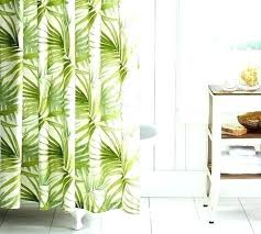 palm tree valance shower curtain bed bath and beyond curtains kitchen tropical beyo