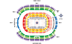 Maple Leafs Seating Chart Air Canada Centre Seating Map