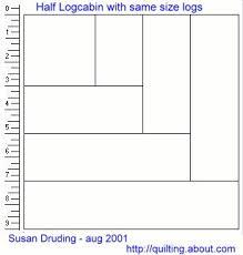 Best 25+ Log cabin quilt pattern ideas on Pinterest | Log cabin ... & Half Log Cabin quilt blocks in 2 styles - free quilt pattern Adamdwight.com