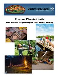 Guide To Safe Scouting Chart Chester County Council Bsa 2019 2020 Program Guide By