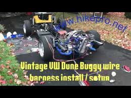 vintage bug vw dune buggy build full wiring setup wire harness manx wiring harness at Dune Buggy Wiring Harness