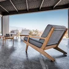 Gloster Bay Lounge Chair Experience well crafted solid teak