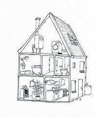 Afbeeldingsresultaat Voor Kleurplaat Binnenkant Huis Verhuizen
