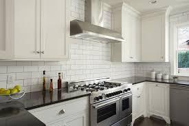 white tile kitchen countertops. Modern Kitchen With White Subway Tile 478427147 Countertops