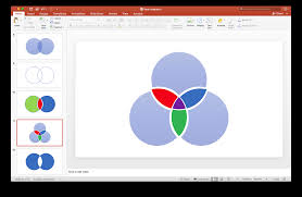 Smart Art Venn Diagram How To Create A Venn Diagram With Independent Intersections
