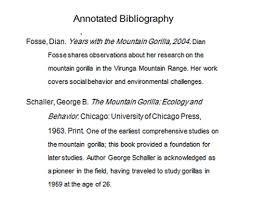 bibliography reference list or works cited  do you know how to write an annotated bibliography