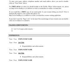 Free Online Job Resume Astonishing Free Printable Resume Templates Tags Professional 79