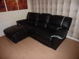 dfs black leather sofa with recliner home garden dfs brown leather sofa dfs brown leather