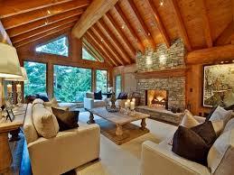 interior design log homes. Modern Log Cabin Kitchen Interior Design Homes