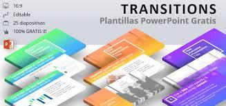 Plantillas Power Point Modernas Transitions Plantilla Moderna Para Powerpoint