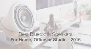 the best bluetooth speakers for the home office or studio best office speakers