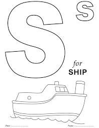 Small Picture Printables Alphabet S Coloring Sheets Free printable Printables