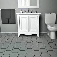 matte black hexagon tile bathroom ideas grey tiles large hexagonal charcoal on the walls hex