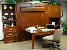 murphy bed desk combo. Bed Desk: Murphy Desk Combo With Modern Chairs, Bed, V