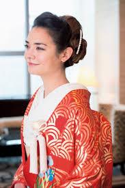 結婚式の和装に合わせたいアップのヘアアレンジ髪型まとめ Marryマリー