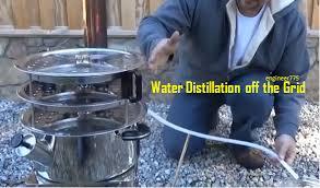 water distillation off the grid