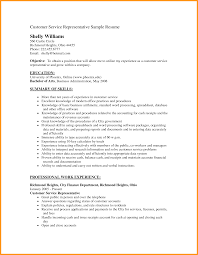 Resume Objectives Customer Service Resume Ideas