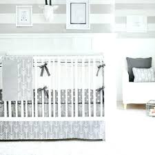 mini crib bedding set clever solid colored crib bedding out and about gray crib bedding set