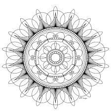 Mandala Gratuit Mpc Design 4 Coloriage Mandalas Coloriages