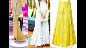 Bell Bottom Pajama Design Latest Bell Bottom Pant Trouser Latest Gharara Pant Designs 2018 Latest Palazoo Pant Trouser