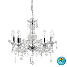 Kronleuchter Fernbedienung Kristall Hänge Decken Lampe Dimmbar Im Set Inkl Rgb Led Leuchtmittel
