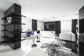 Interior Design Black And White Living Room Black And White Graphic Decor
