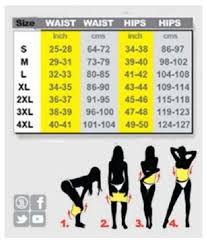Scooter Belt Size Chart Hot Slimming Shaper Belt
