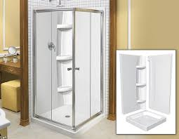 square 36 3 piece shower