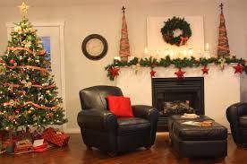 simple homes christmas decorated. Simple Homes Christmas Decorated Decor Pictures Of