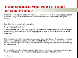 descriptive writing english luis cordova what is descriptive 4 how