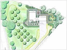 landscape architecture blueprints. Rendering Colored Pencil Garden Art Landscape Architecture Design Blueprints Drawing