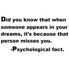Quotes About Dreaming About Someone