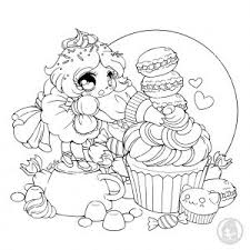 They remind me of how much i like eating cupcakes and muffins. Cupcakes And Cakes Coloring Pages For Adults