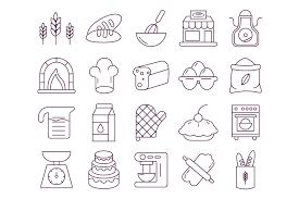 Bakery Vector Free Icon Set Deszonenet