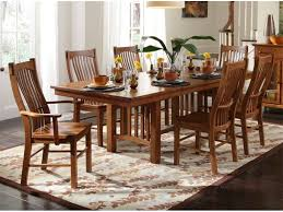 Delightful Ideas Mission Dining Room Set Extraordinary Idea - Amish oak dining room furniture
