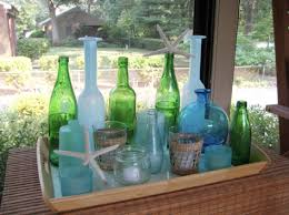 Decorative Colored Glass Bottles An Easy Way To Get Sticky Labels Off Of Glass Bottles Young 98