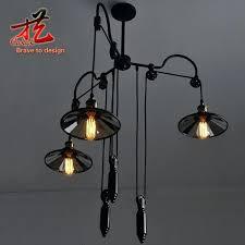 retractable lighting fixtures. Pulley Pendant Light Fixtures Beam Wood Retractable Lighting