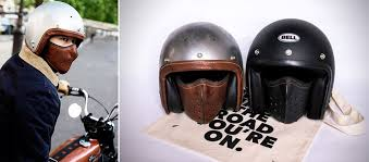 leather motorcycle face mask